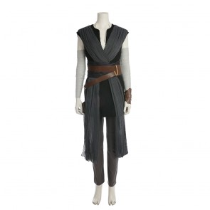 Star Wars Episode VIII: The Last Jedi Rey Jedi Training Suit Cosplay Costume