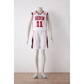 Kuroko no Basuke Kuroko's Basketball Season 2 Tetsuya Kuroko White Cosplay Costume