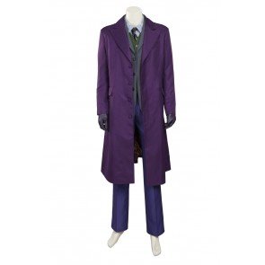 Batman: The Dark Knight Rises The Joker Cosplay Costume