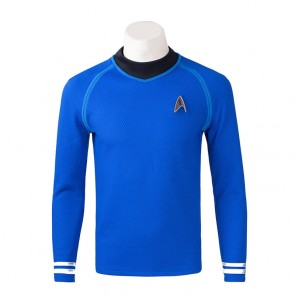 Star Trek Captain Kirk Spock Cosplay Costume