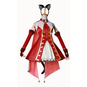 Fate/hollow ataraxia Rin Tohsaka Cosplay Costume