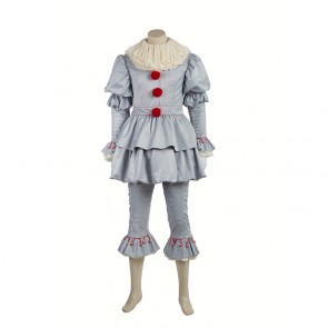 IT (Movie) by Stephen King - IT: Pennywise the Clown Cosplay Costume