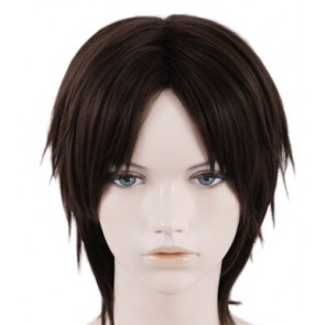 Brown 35cm 07-Ghost Teito Klein Cosplay Wig