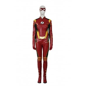The Flash Season Ⅲ Jesse Quick Cosplay Costume