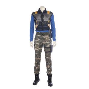 Black Panther Erik Killmonger N'Jadaka Cosplay Costume