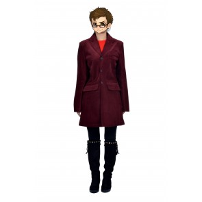 Doctor Who Coat Cosplay Costume