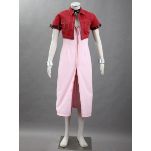 Final Fantasy VII 7 Aerith Gainsborough Cosplay Costume