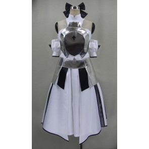 Fate/Zero Saber White Cosplay Costume