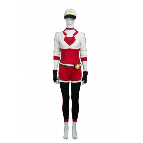 Pokemon Go Female Trainer Red Suit Cosplay costume