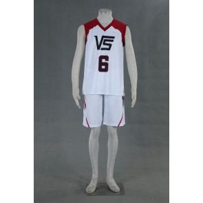 Kuroko no Basuke LAST GAME Team Vorpal Swords No.6 Cosplay Costume