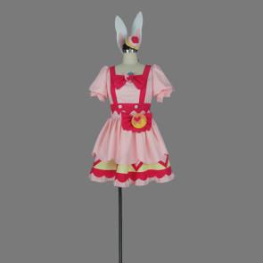 Kirakira PreCure a la Mode Ichika Usami Cure Whip Cosplay Costume