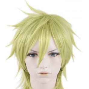 Light Green 35cm 07-Ghost Mikage Cosplay Wig