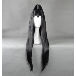 Black 70cm Heroes of the Storm Illidan Cosplay Wig
