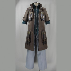 God Eater Burst Lindow Amamiya Cosplay Costume - Version 2