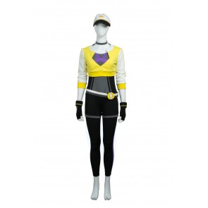 Pokemon Go Female Trainer Yellow Suit Cosplay costume