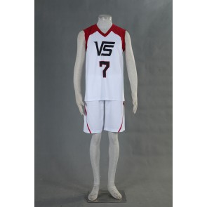 Kuroko no Basuke LAST GAME Team Vorpal Swords No.7 Cosplay Costume
