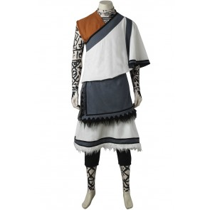 The Last Guardian Little Monk Cosplay Costume