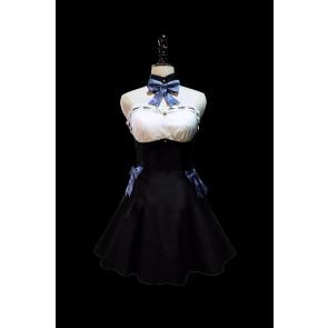 Puella Magi Madoka Magica Sayaka Miki Maid Cosplay Costume