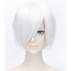 Silver 30cm A Certain Magical Index Accelerator Cosplay Wig