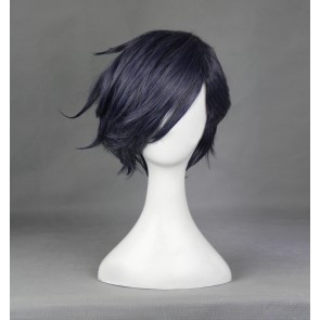 Grey 35cm Touken Ranbu Akashi Kuniyuki Cosplay Wig