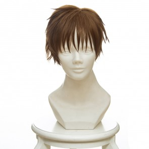 Brown 30cm Cardcaptor Sakura Syaoran Li Cosplay Wig