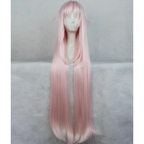 Pink 100cm K Project Neko Cosplay Wig