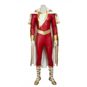 Captain Marvel Shazam Cosplay Costume