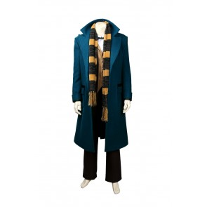 Fantastic Beasts and Where to Find Them Newt Scamande Cosplay Costume