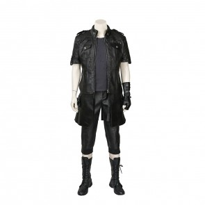 Final Fantasy XV Noctis Lucis Caelum Cosplay Costume With Boots