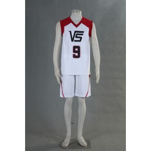 Kuroko no Basuke LAST GAME Team Vorpal Swords No.9 Cosplay Costume