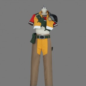 Grimoire of Zero Mercenary Cosplay Costume