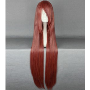 Red 100cm A Certain Magical Index Awaki Musujime Cosplay Wig