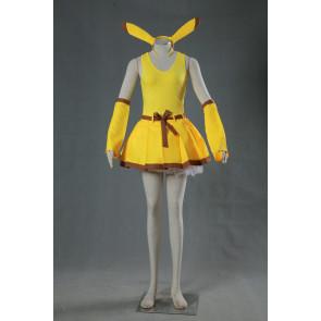 Pokemon Pikachu Human Suit Cosplay Costume