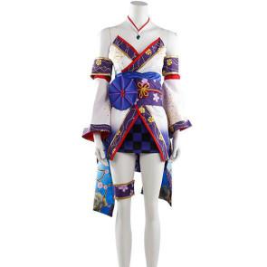 The Idolmaster Cinderella Girls: Starlight Stage Shiomi Syuko Kimono Cosplay Costume