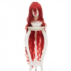 Red 120cm Land of the Lustrous Padparadscha Cosplay Wig