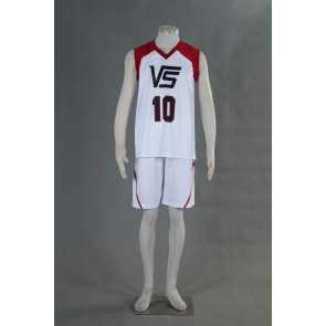 Kuroko no Basuke LAST GAME Team Vorpal Swords No.10 Cosplay Costume