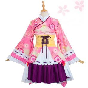Puella Magi Madoka Magica Madoka Kaname Kimono Cosplay Costume