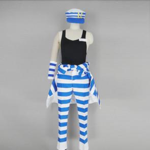 Nanbaka - The Numbers Uno Cosplay Costume