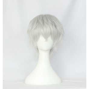 White 30cm Touken Ranbu Nakigitsune Cosplay Wig