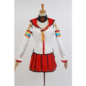 Kantai Collection KanColle Battleship Yamato Cosplay Costume