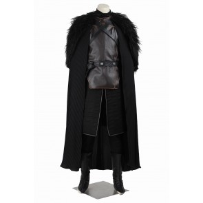 Deluxe Game of Thrones Jon Snow Cosplay Costume