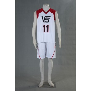 Kuroko no Basuke LAST GAME Team Vorpal Swords No.11 Cosplay Costume