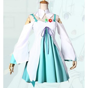 Re:Zero - Starting Life in Another World Emilia Green Dress Cosplay Costume