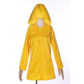 Movie IT Stephen King's It Georgie Denbrough Raincoat Cosplay Costume