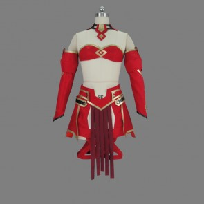 Fate/Apocrypha Saber of Red Mordred Cosplay Costume Version 2