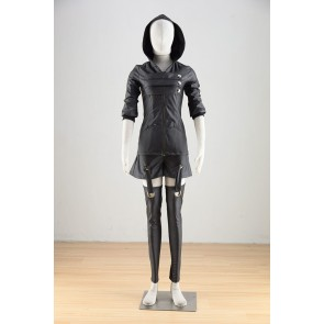 Tokyo Ghoul Touka Kirishima Black Battle Suit Cosplay Costume