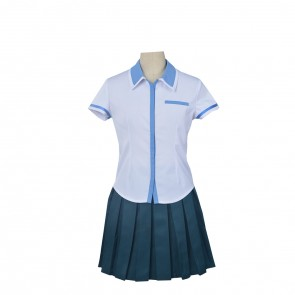 Kuromukuro Yukina Shirahane Girl's School Uniform Cosplay Costume