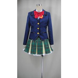 Battle Girl High School Sophomore High School Uniform Cosplay Costume