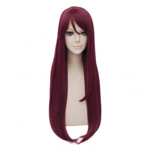 Red 80cm Love Live! Sunshine!! Riko Sakurauchi Cosplay Wig