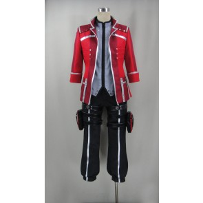 God Eater Burst Lenka Utsugi Cosplay Costume (with Red Coat)